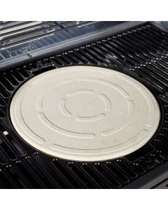 Outback Pizza Stone in use with the Jupiter BBQ