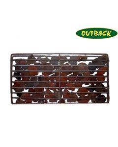 OUTBACK 4457LAV6 Lava Rock Basket Inc Lava Rock to fit 6 Burner BBQ's