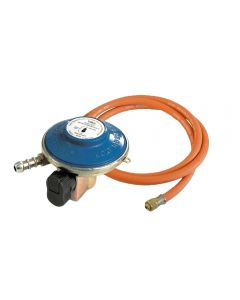Genuine Outback 21mm 28mbar butane regulator and hose set
