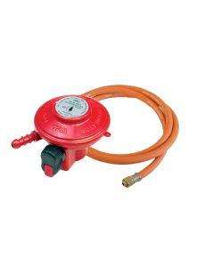 Genuine Outback propane gas regulator and y shaped hose set
