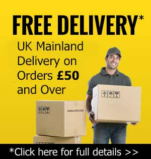 Free Delivery - UK mainland total orders over £50