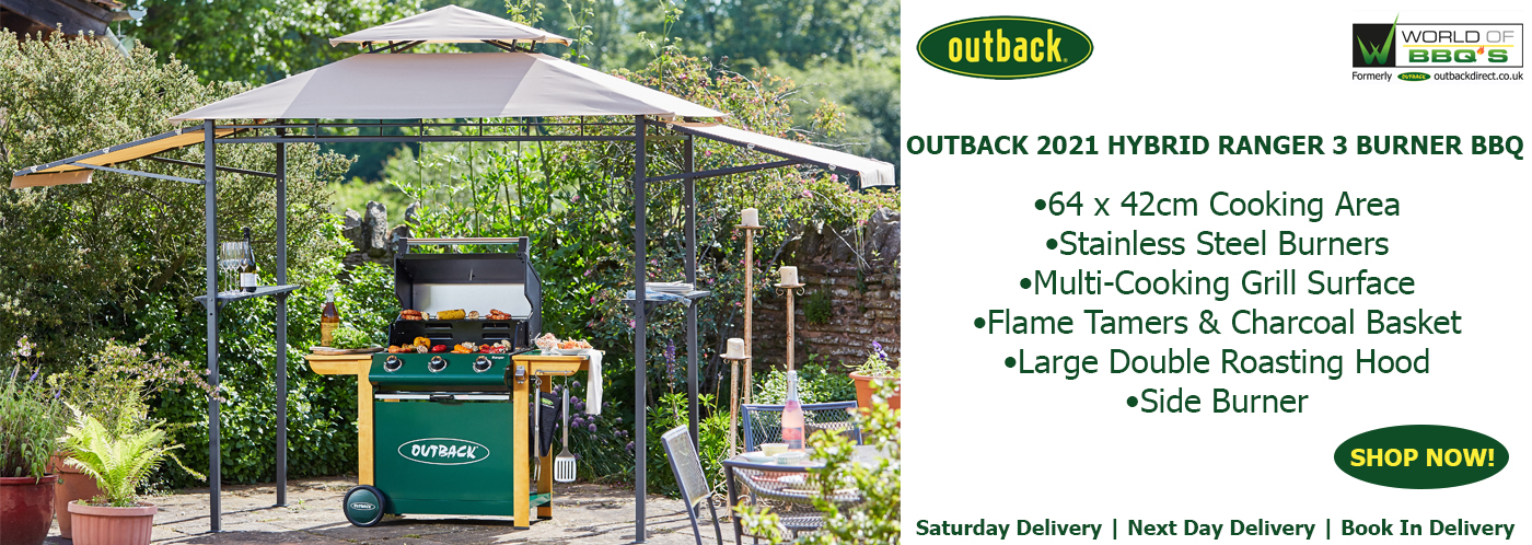 Outback BBQ's for Pre Order