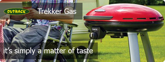 Outback Trekker Gas Camping Grill