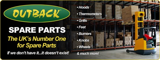 Outback Barbecues Spares - The UK's biggest stock of spares