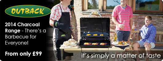 Outback 2013 Charcoal Barbecues
