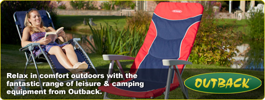 Outback Leisure and Camping Reclining Chairs