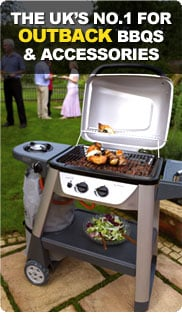 The UK's number one for Outback Barbecues and Accessories