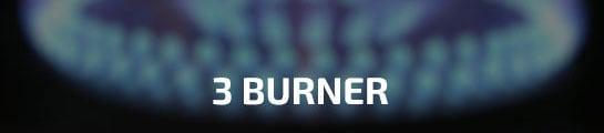3 Burner